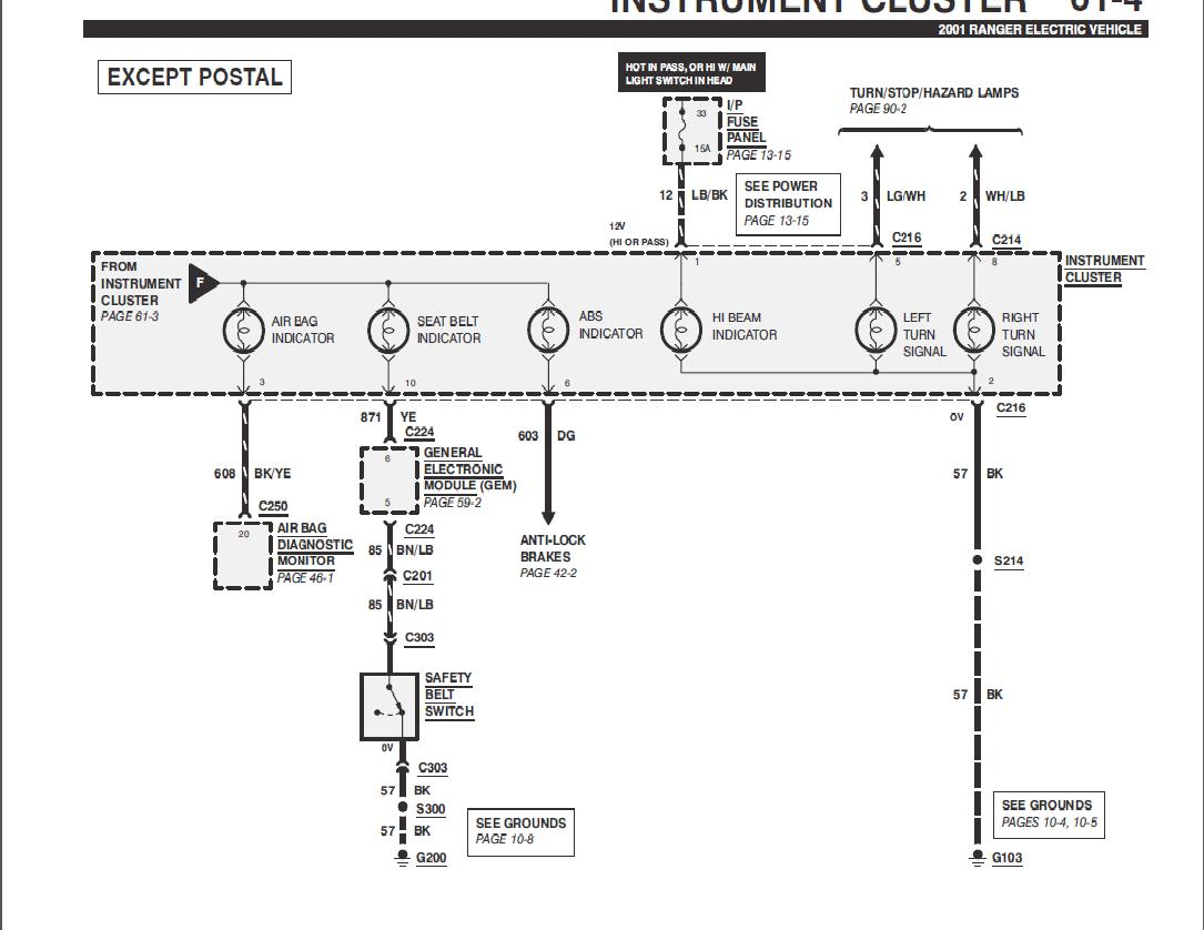 2001 gem car wiring diagram   27 wiring diagram images