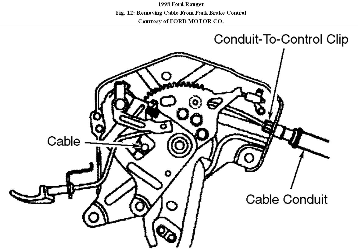 front brake cable replacement how do you disconnect the. Black Bedroom Furniture Sets. Home Design Ideas