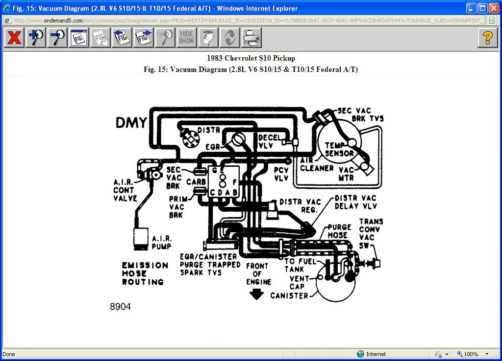 34 2002 S10 Vacuum Hose Diagram - Wiring Diagram List