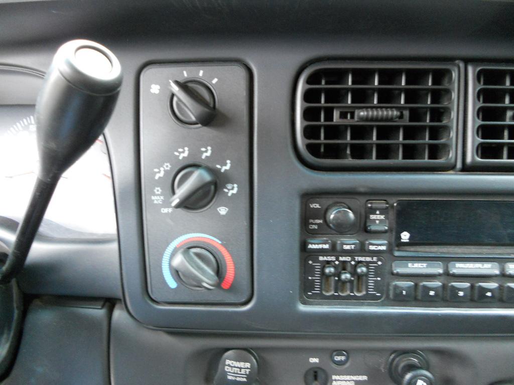 Dodge Vacuum Heater Control Switches
