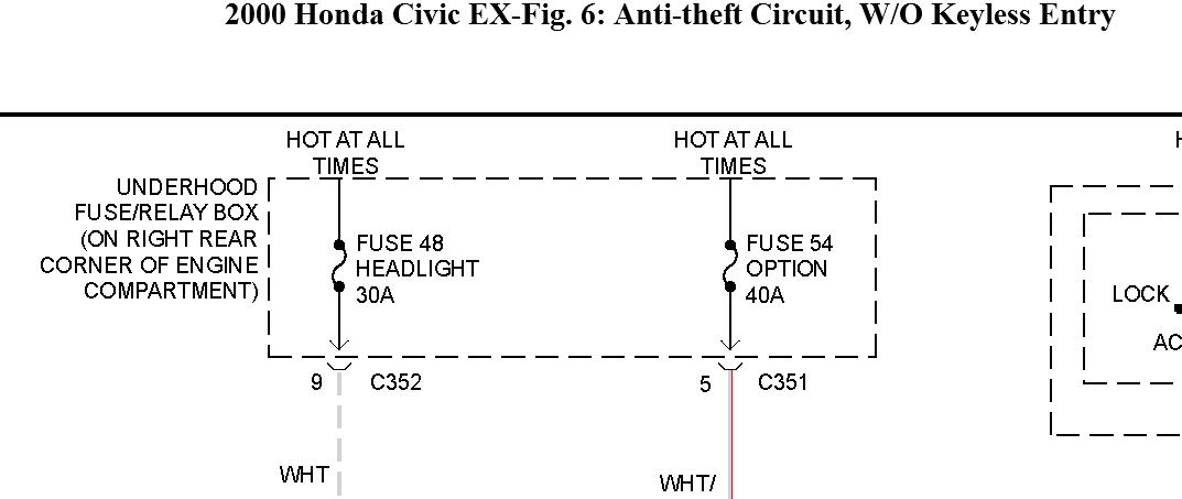 i have a honda civic 1 4is year 2000 the green key light on the Honda Civic 2000 Fuse Box Honda Civic 2000 Fuse Box #76 honda civic 2000 fuse box picture ac fuse