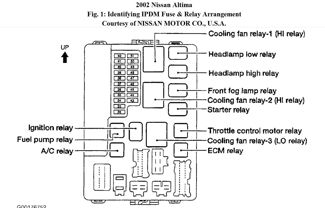 Original on 2007 Nissan Altima Radio Wiring Diagram