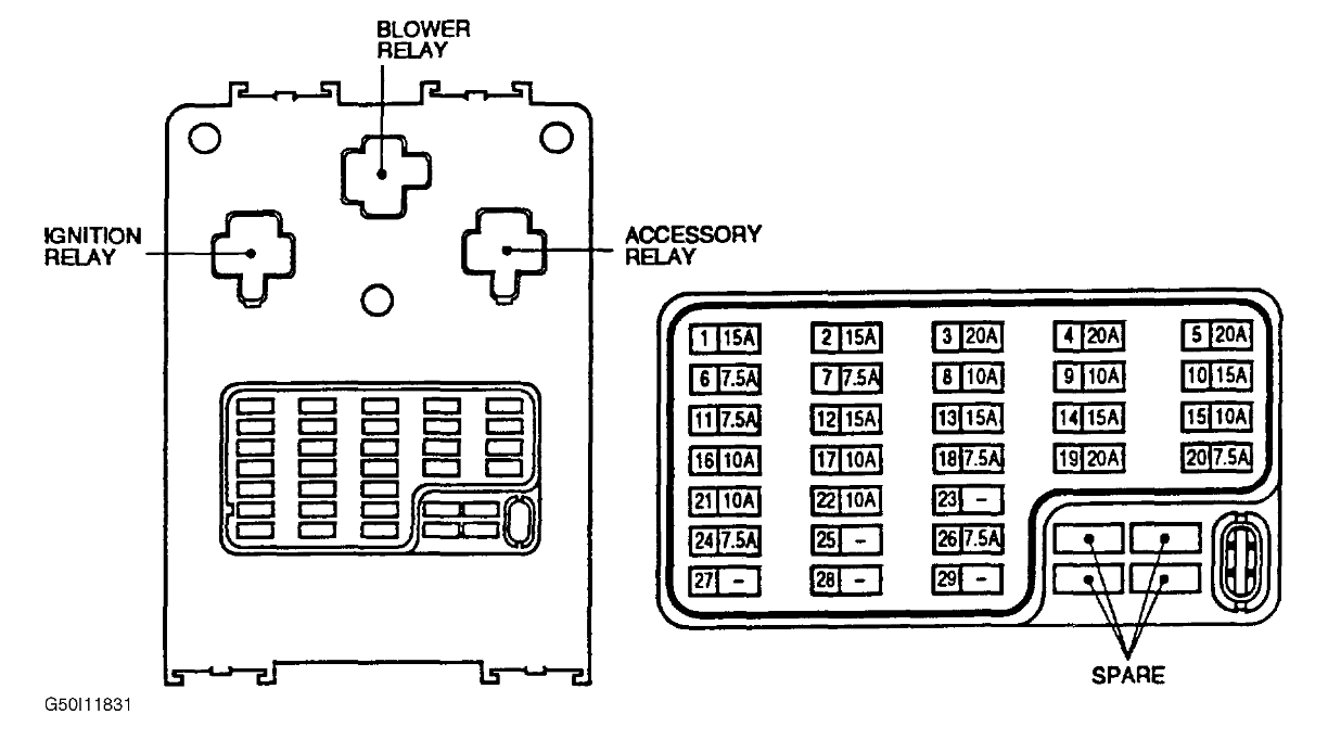 WRG-7792] Nissan Almera Fuse Box Diagram on