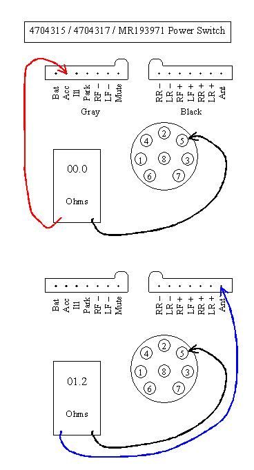original getting no sound out of my stereo chrysler infinity 36670 wiring diagram at soozxer.org