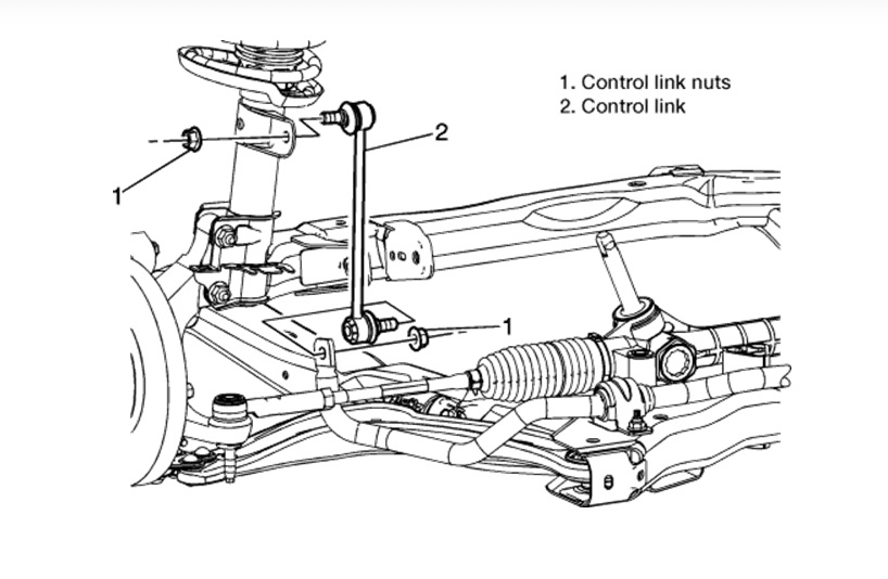 chevy hhr front suspension diagram