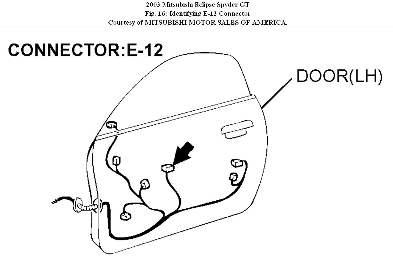 Lancer Power Window Wiring Diagram : Mitsubishi mirage engine compartment fuse box diagram