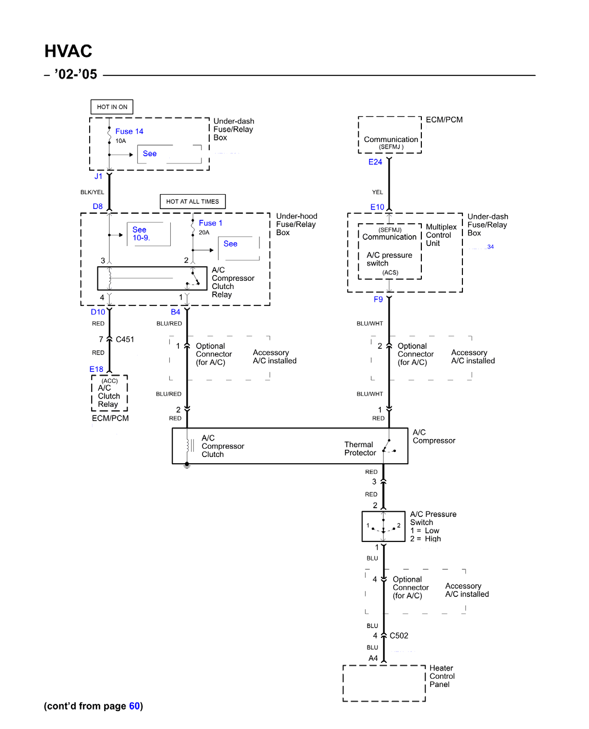 2002 Honda Civic A C Compressor Wiring Diagram - List of ... on