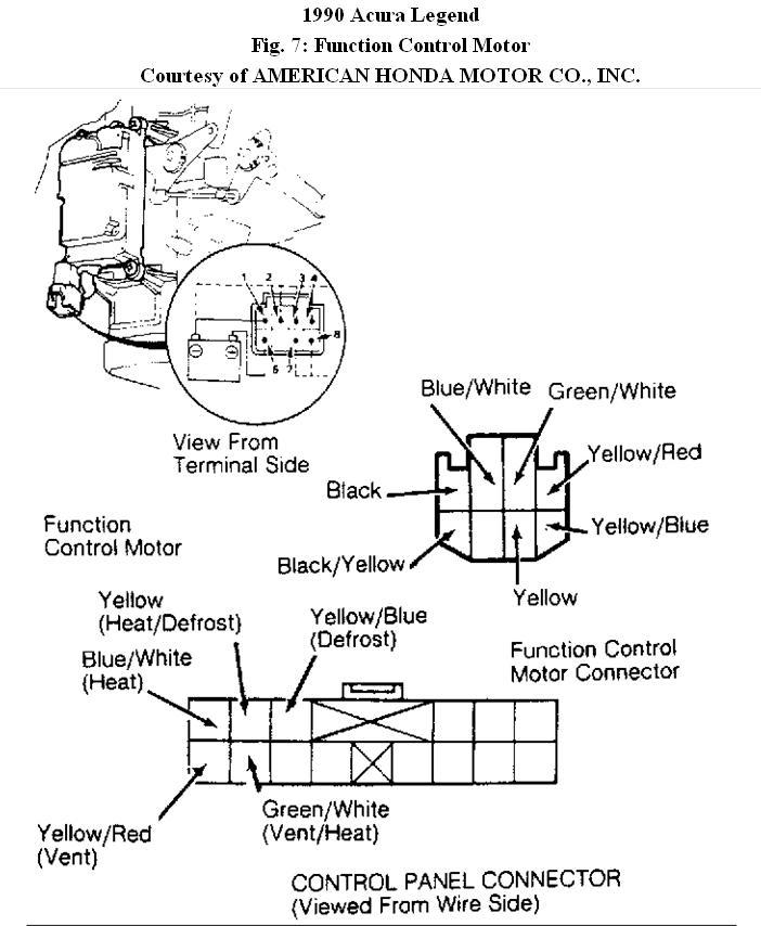 Acura Legend Door Wiring Diagram