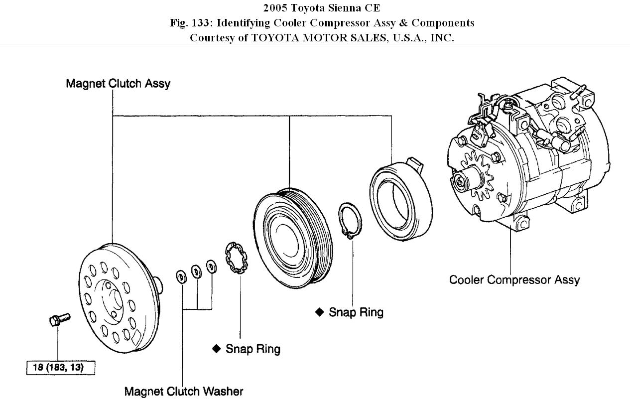 2005 toyota corolla clutch diagrams  toyota  auto parts