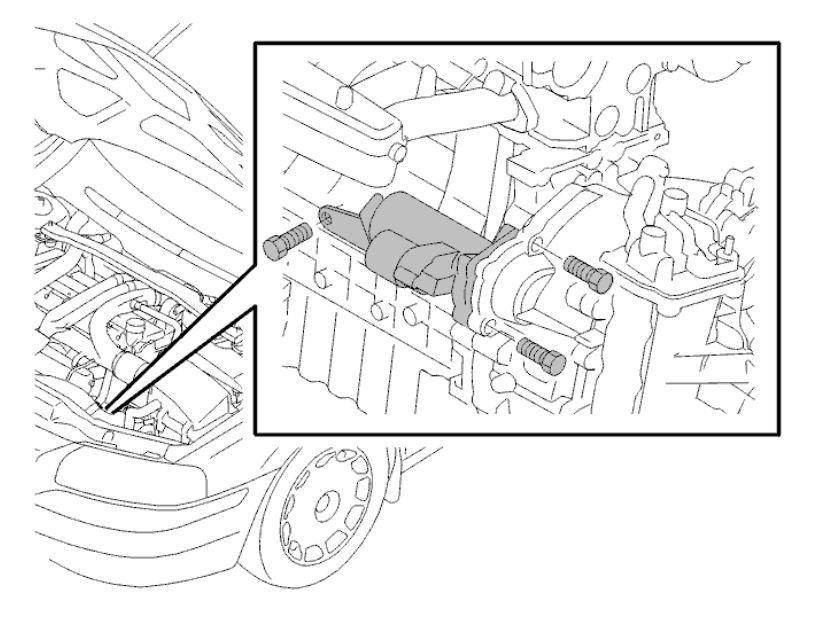 How To Replace The Starterrh2carpros: 2001 Volvo V70 Starter Location At Gmaili.net