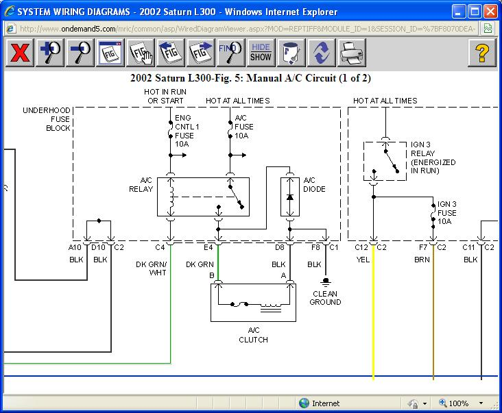 2001 Saturn L200 Wiring Diagram Explore On The