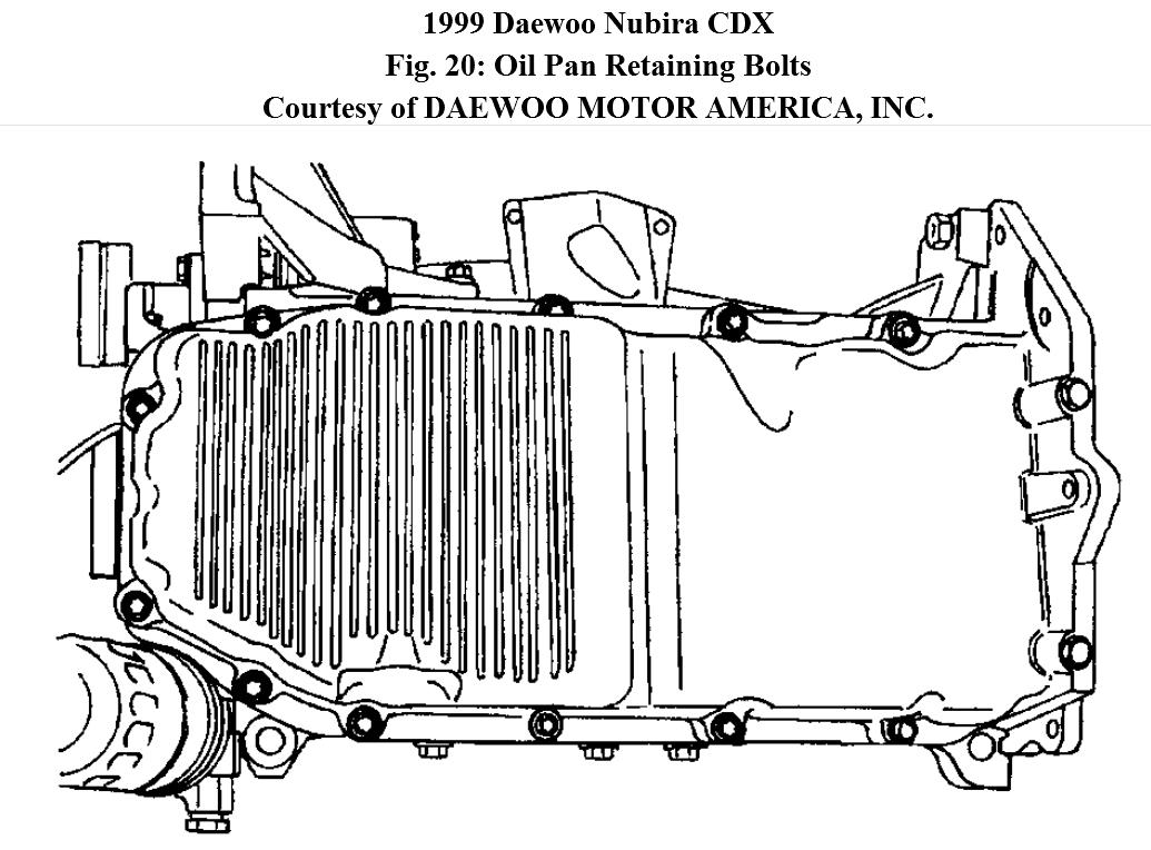 f350 oil pan diagram