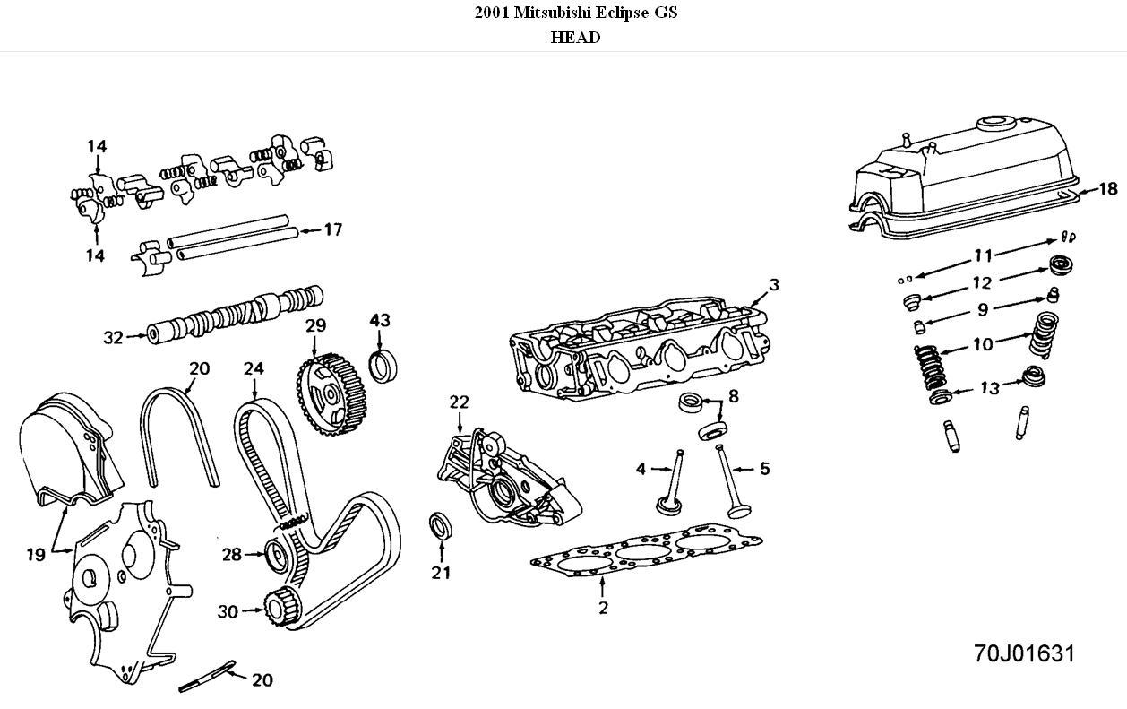 Code P0300 HARD TO START: Where Is the Camshaft on Mitsubishi ...