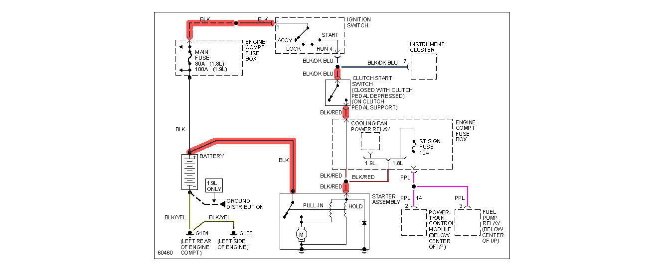1999 ford escort zx2 starter wiring diagram   43 wiring diagram images