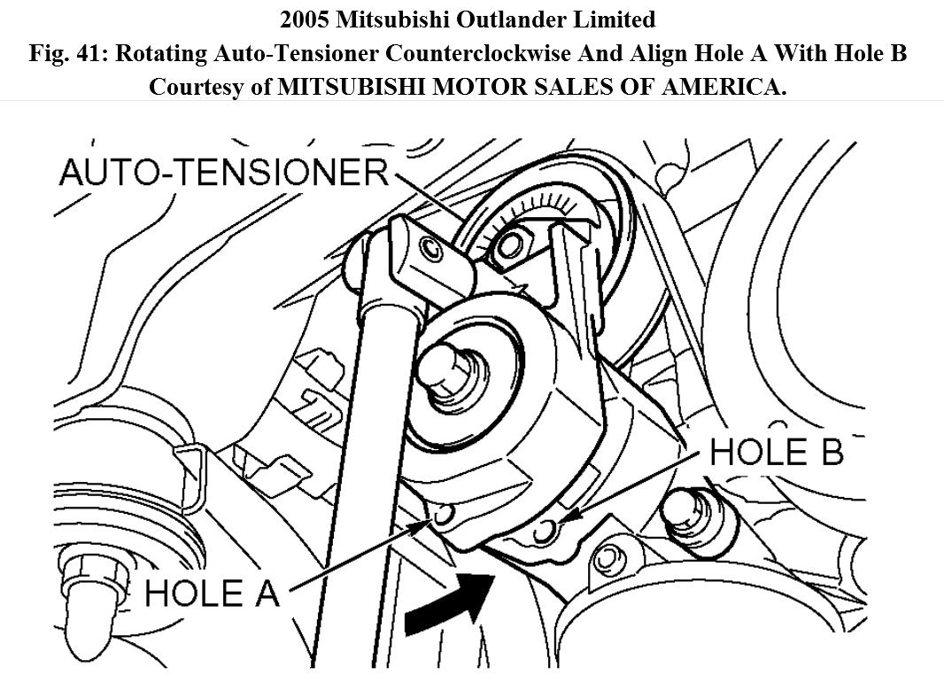 2014 mitsubishi outlander diagram
