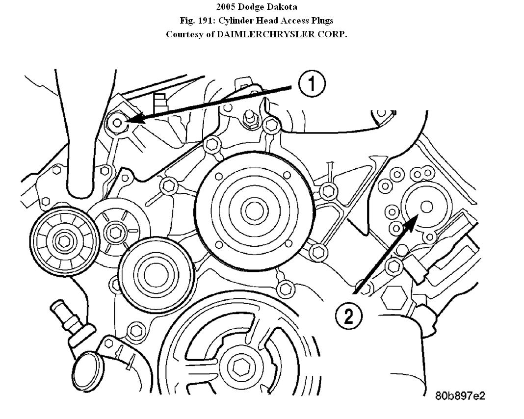 Timing Chain Diagram I Am in Search of a Diagram for Timing Marks – Dodge Dakota 4.7 Engine Diagram