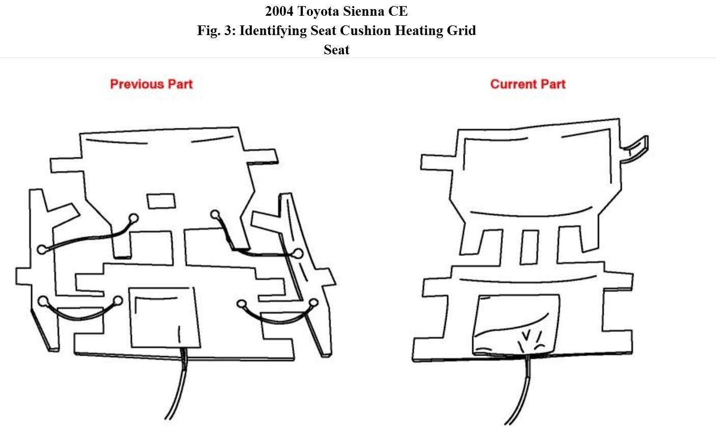 2004 toyota sienna seat wiring   30 wiring diagram images