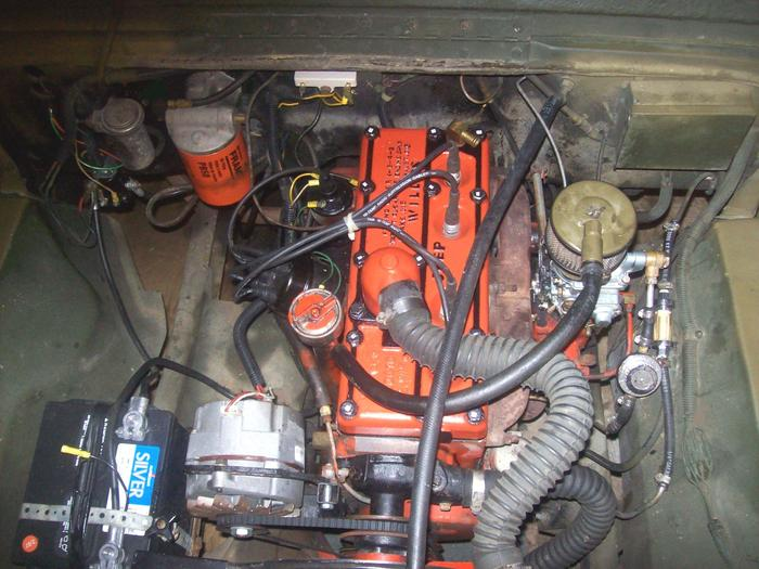 Hello Help Ha I Recently Acquired a 77 Cj7 Through Trade Jeep – Jeep Cj Engine Bay Diagram