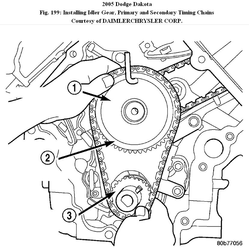 4 7l Timing Chain Diagram
