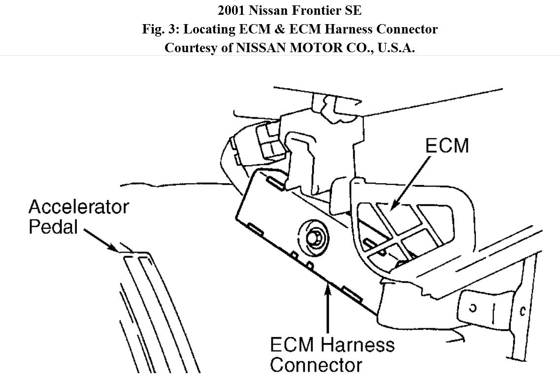 Nissan Frontier 3 Engine Diagram Automotive Wiring Exhault Manifold 2001 2000 V6