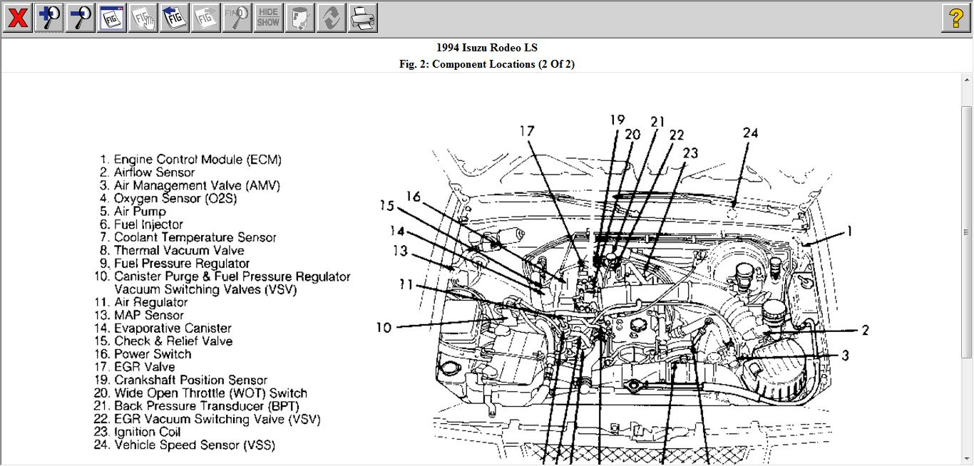 diagrams 600708 isuzu rodeo 2004 engine diagram 2004 2002 isuzu rodeo  engine diagram holden rodeo engine diagram