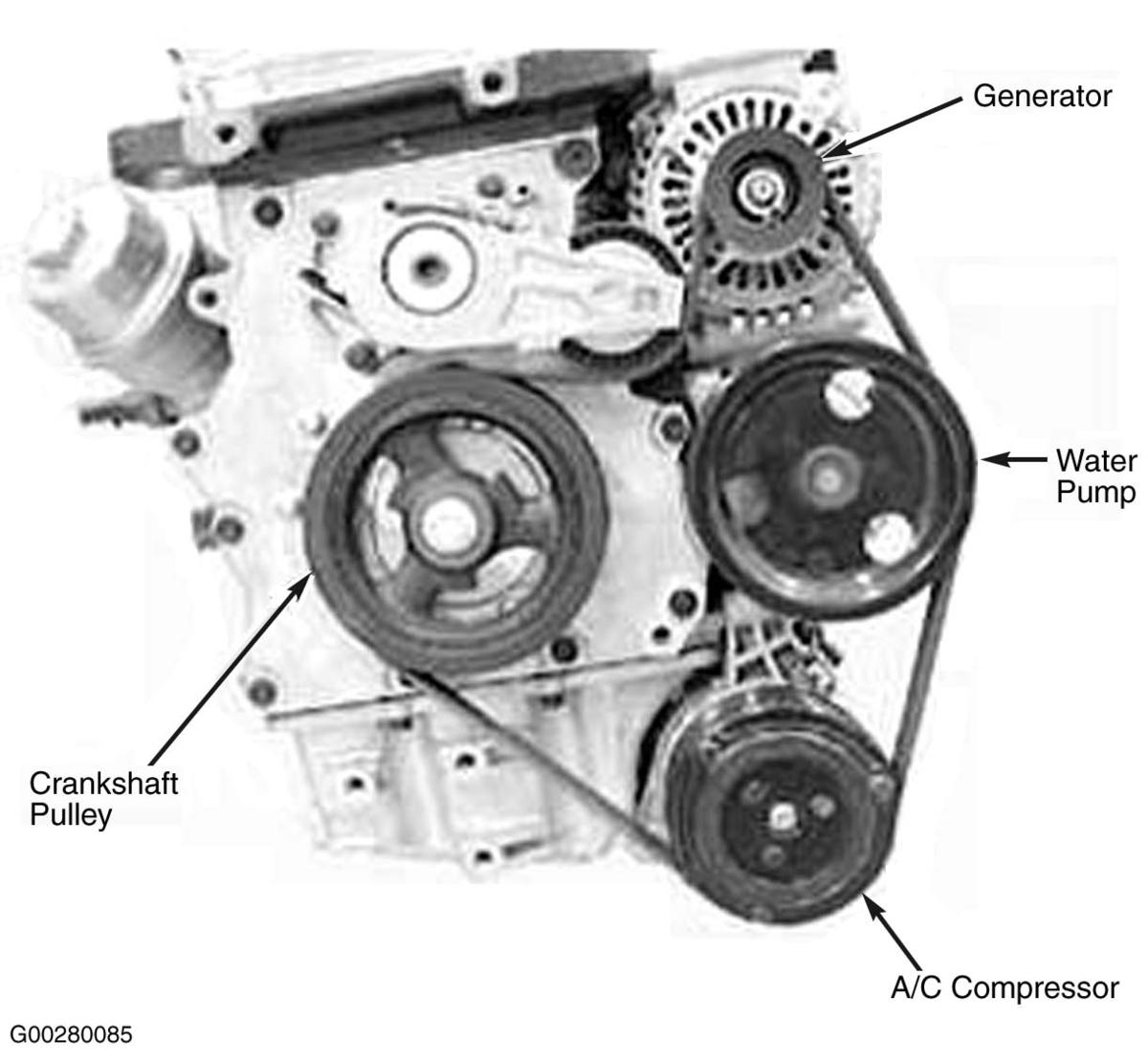 2002 mini cooper serpentine belt routing and timing belt diagrams serpentine and timing belt diagrams